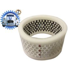Mousse filtre à air acier 2cv4 Méhari Dyane 4 115mm