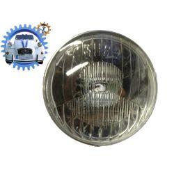 Optique de phare 2cv ancien modèle sans trou de veilleuse baionnette