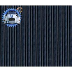 Capote Dyane gros grain bleu marine toile renforcee