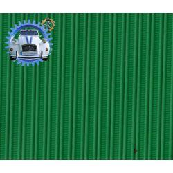 Capote Dyane gros grain vert tuilerie toile renforcee