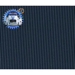 Capote Dyane petit grain bleu glacier
