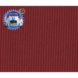 Capote Dyane petit grain rouille rouge cinabre