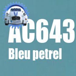 Atomiseur de peinture 400 ML net bleu petrel AC643