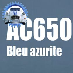 Atomiseur de peinture 400 ML net bleu azurite AC650