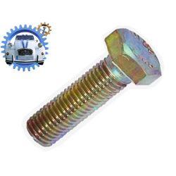 VIS de fixation plaque amortisseur M9 pas 125 long sous tete 22mm 8.8
