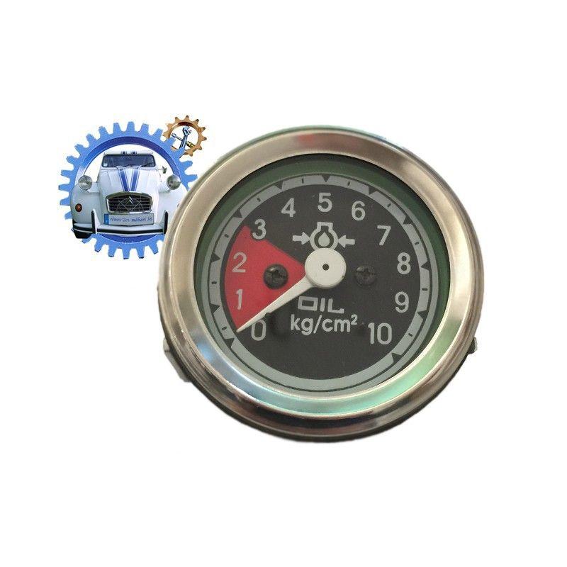 Manomètre électrique de pression d'huile 0 à 10 bars