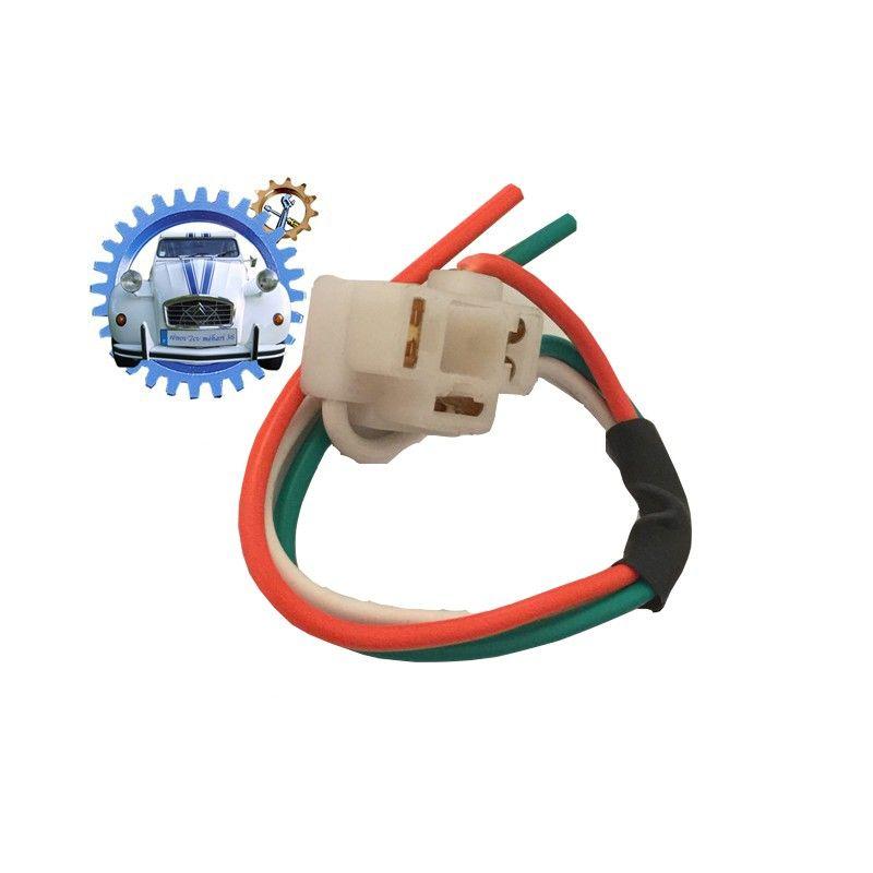 Connecteur plastique pour ampoule de phare P43 et P45