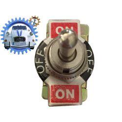 Interrupteur 3 postion ON OFF ON max 10Amp 250V