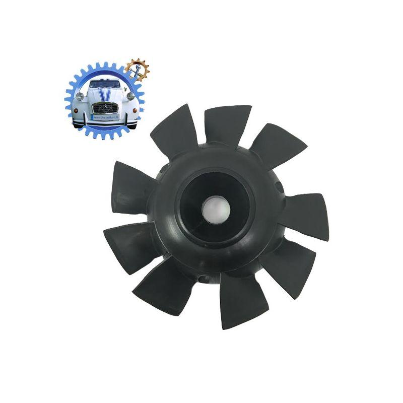 Ventola motore 602cc 9 lame nero