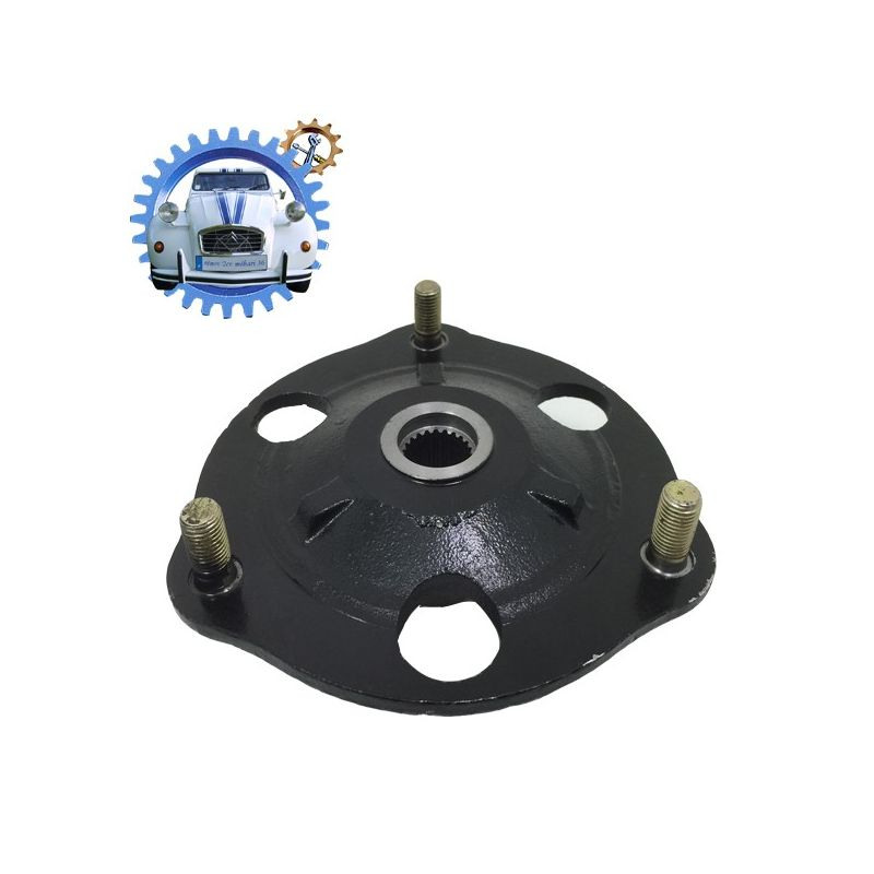 Front wheel plate 2cv, dyane and méhari for bearing 72x35x27