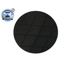 Plage arrière de 2cv en tissus DAIM noir