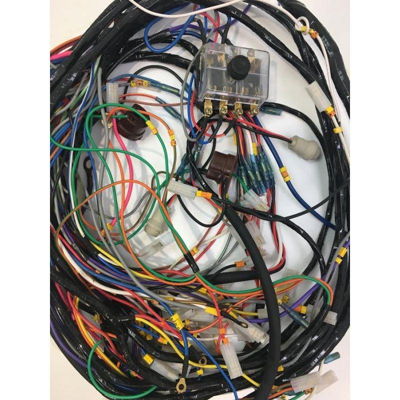 Faisceau électrique complet AV+AR pour 2cv6 après 1981
