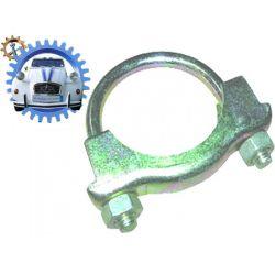 Collier en U pour pot sous caisse ami6 jusqu'à 68 diamètre 32mm