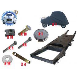 Kit Chassis cataphorese homologue 2cv mehari dyane