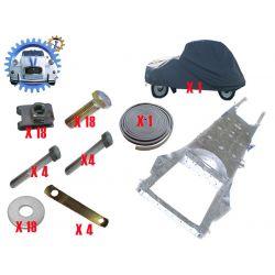 Kit Chassis galvanise homologue 2cv mehari dyane