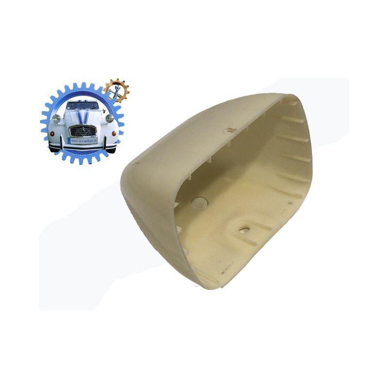 Cuvelage plastique à peindre optique de phare RECTANGULAIRE 2cv