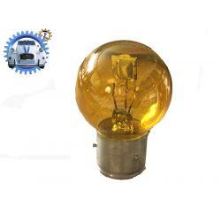 Ampoule de phare JAUNE 6 volts 45/40w baïonnette