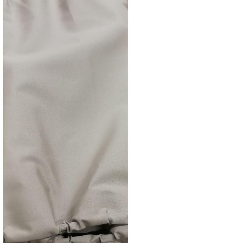 Cappotta 2cv lunga tela di cotone con vetro piccolo