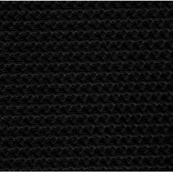 Bayadere seat cover black skai 2cv au azu & ak