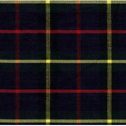 Siege bayadere ecossais bleu marine lot de 4