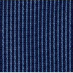 Garniture banquette bayadère 2cv arrière bleu rabatable