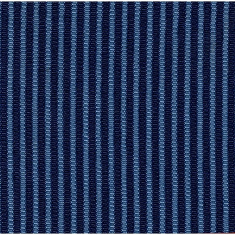 Garniture banquette bayadère 2cv arrière bleu rabattable
