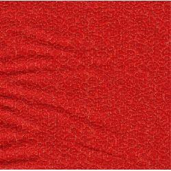 Tissus au mètre rouge diamanté