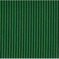 Tissus au mètre vert bayadère