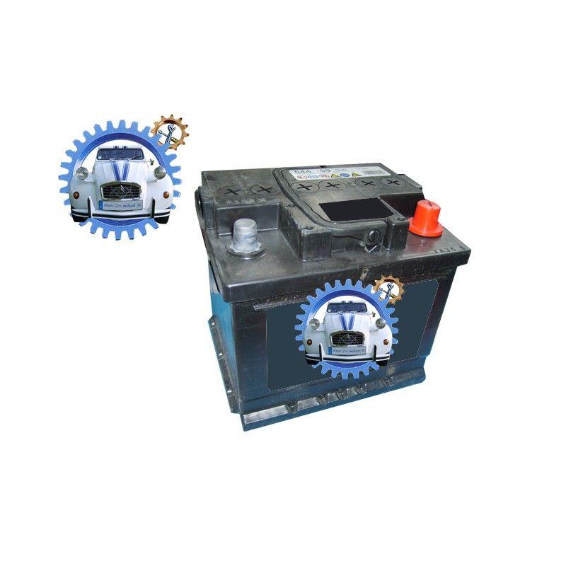 Battery 12 volts 2cv mehari dyane 50 ah