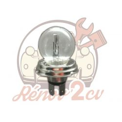 Ampoule de phare blanche CE 12 volts 45/40W P45T