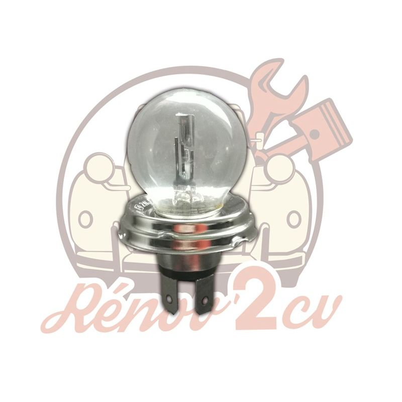 White headlight bulb EC 12 volts 45/40w