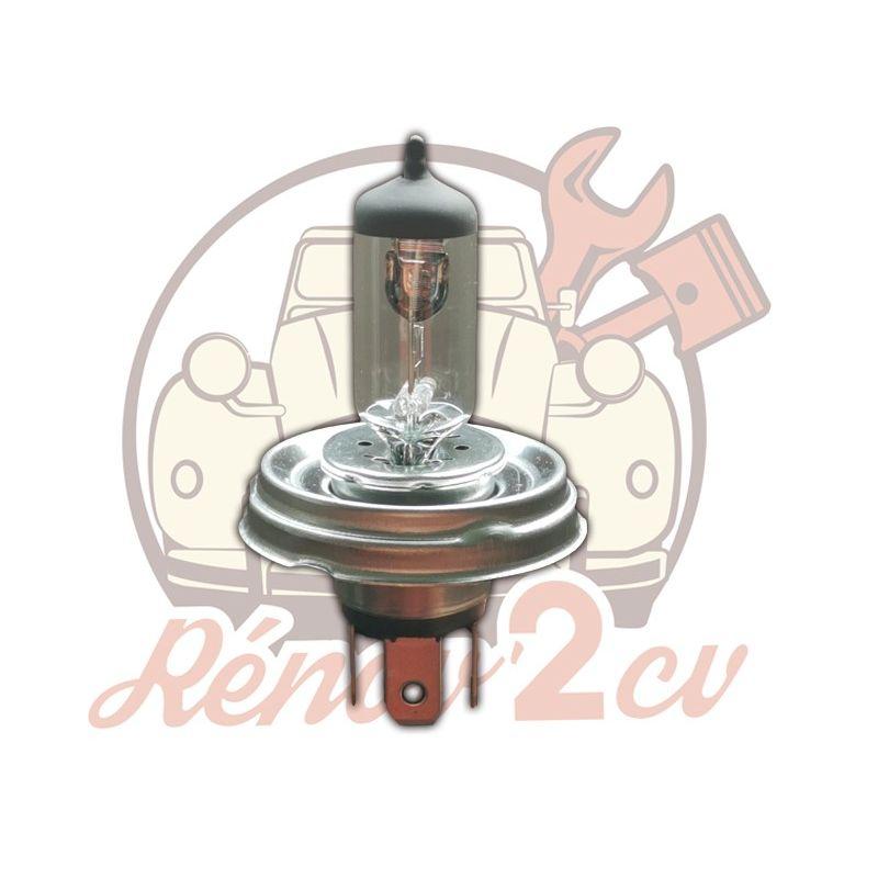 White headlight bulb 12v h4 60/55w EC