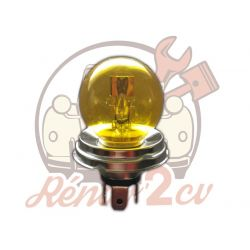 Ampoule de phare JAUNE 12 volts 45/40W CE P45T