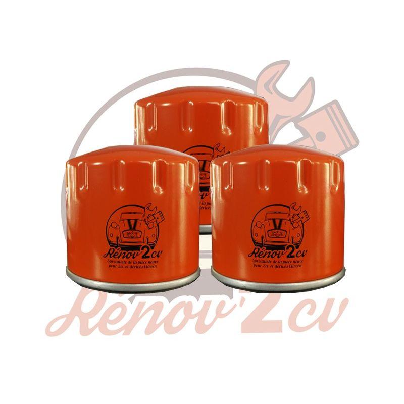 Set of 3 oil filters 2cv mehari dyane acadiane