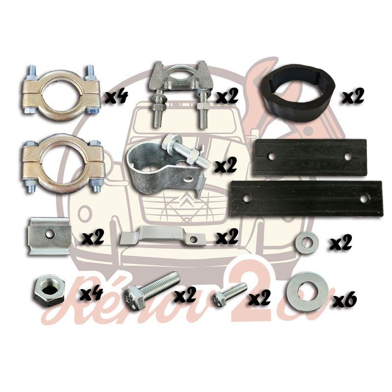 Kit de montage complet pour échappement 435 602cc Qualité supérieure