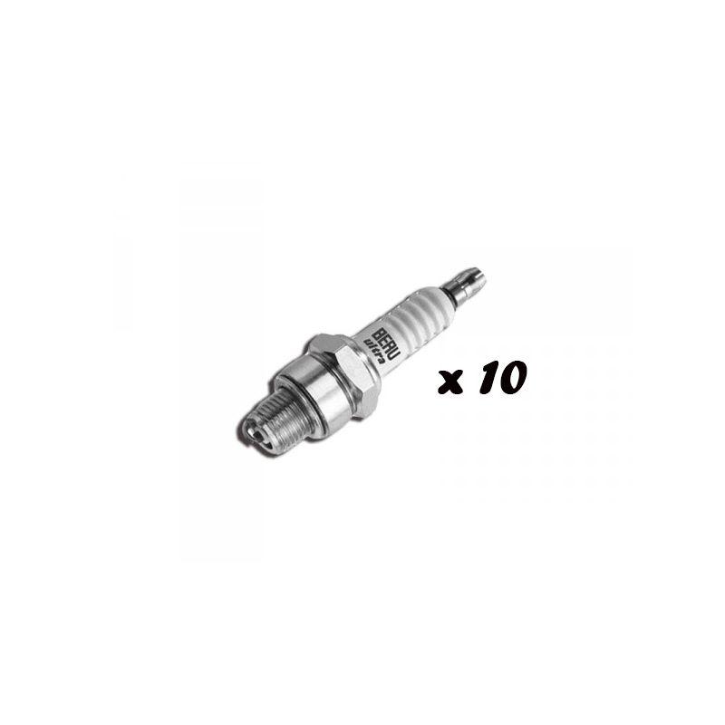 Set of 10 spark plugs 2cv mehari dyane acadiane