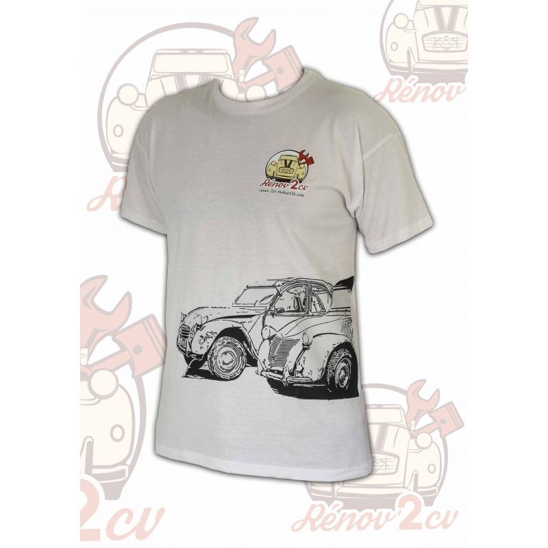 T-shirts RENOV 2CV - Duo 2cv