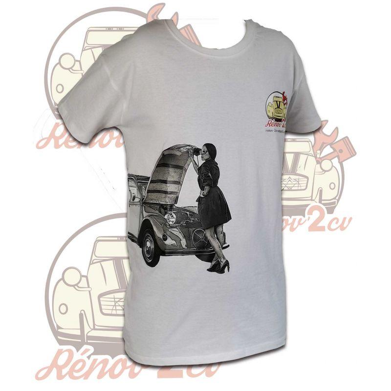 T-shirts RENOV 2CV - Femme 2cv