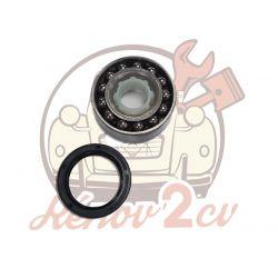 Kit roulement de roue arriere D72mm 2cv, méhari et dyane Pour un côté