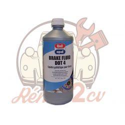 Liquide de frein dot4 bidon de 1 litre