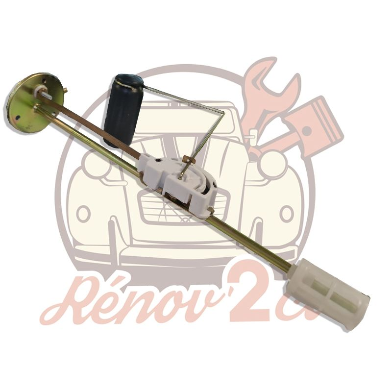 Sensor de nivel de combustible 2cv camioneta 12 Voltios adaptable.