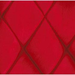 Plage arrière de 2cv en tissus DAIM Rouge