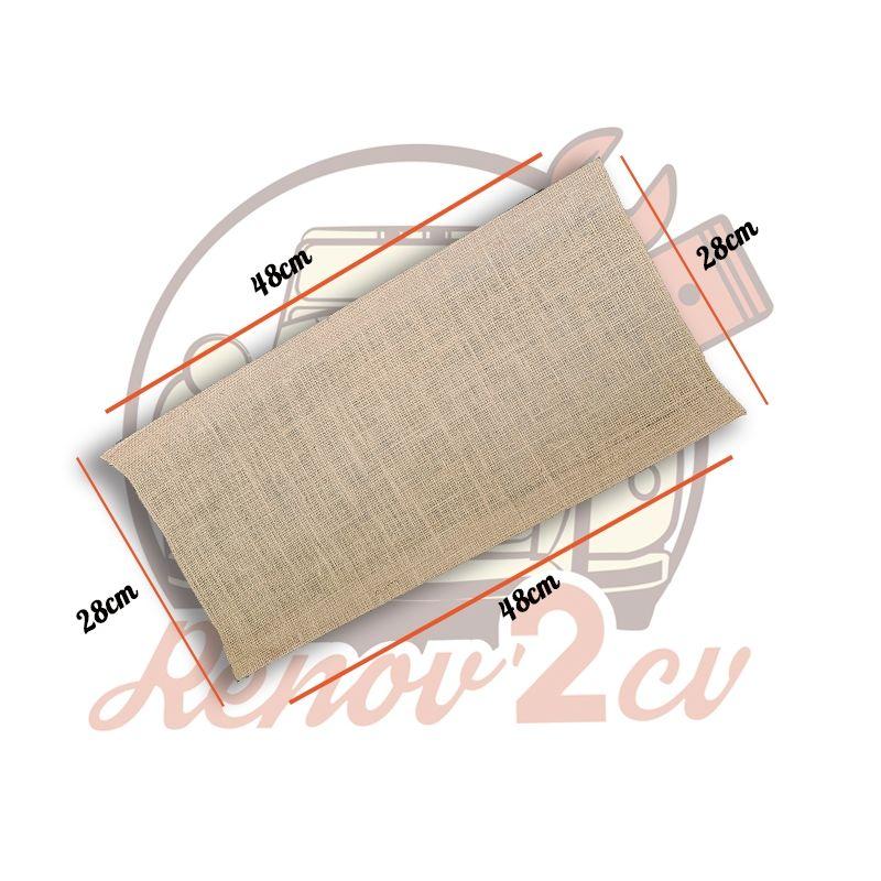 Seat base fabric  Ami6 and 2cv AZAM