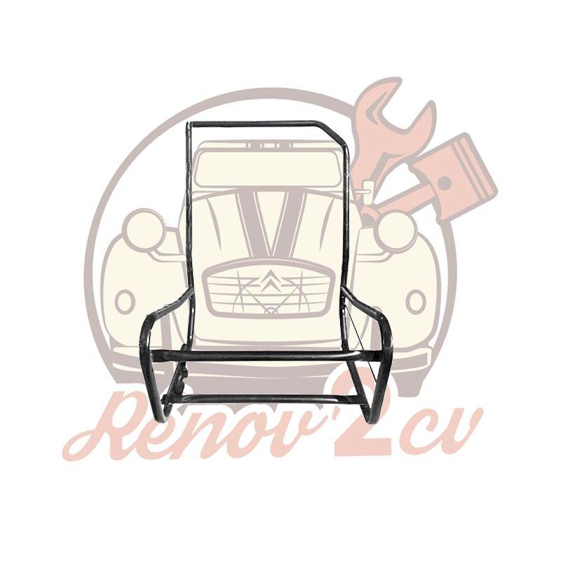 Armatures de siège avant gauche asymétrique 2cv Dyane Acadiane.