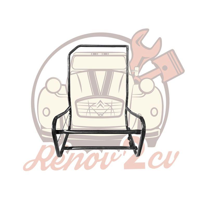 Armatures de siège avant droit asymétrique 2cv Dyane Acadiane.