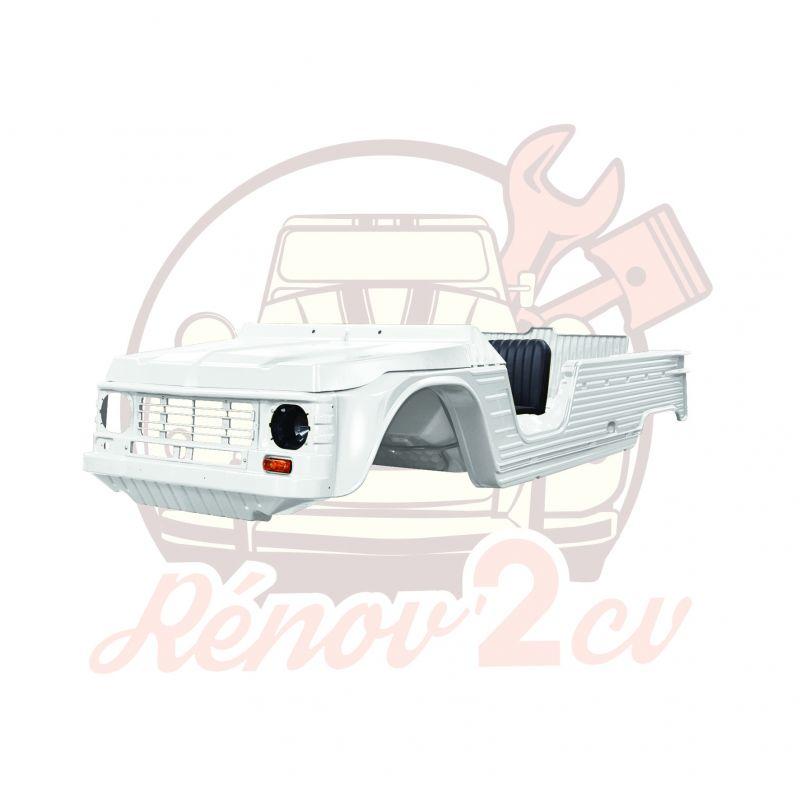 Kit carrosserie complet Méhari nouveau modèle 23 pièces BLANC BRILLANT - PMMA