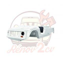 Kit carrosserie complet Méhari nouveau modèle 23 pièces BLANC MAT à peindre