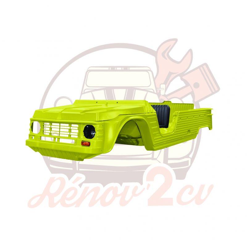 Kit carrosserie complet Méhari nouveau modèle 23 pièces JAUNE