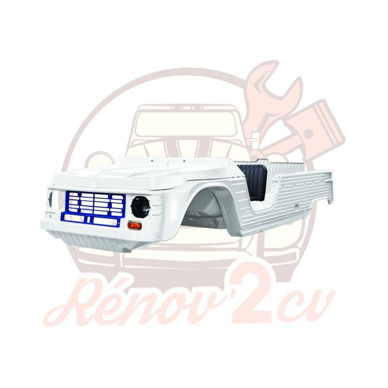 Kit carrosserie complet Méhari nouveau modèle /ancien tableau de bord AZUR