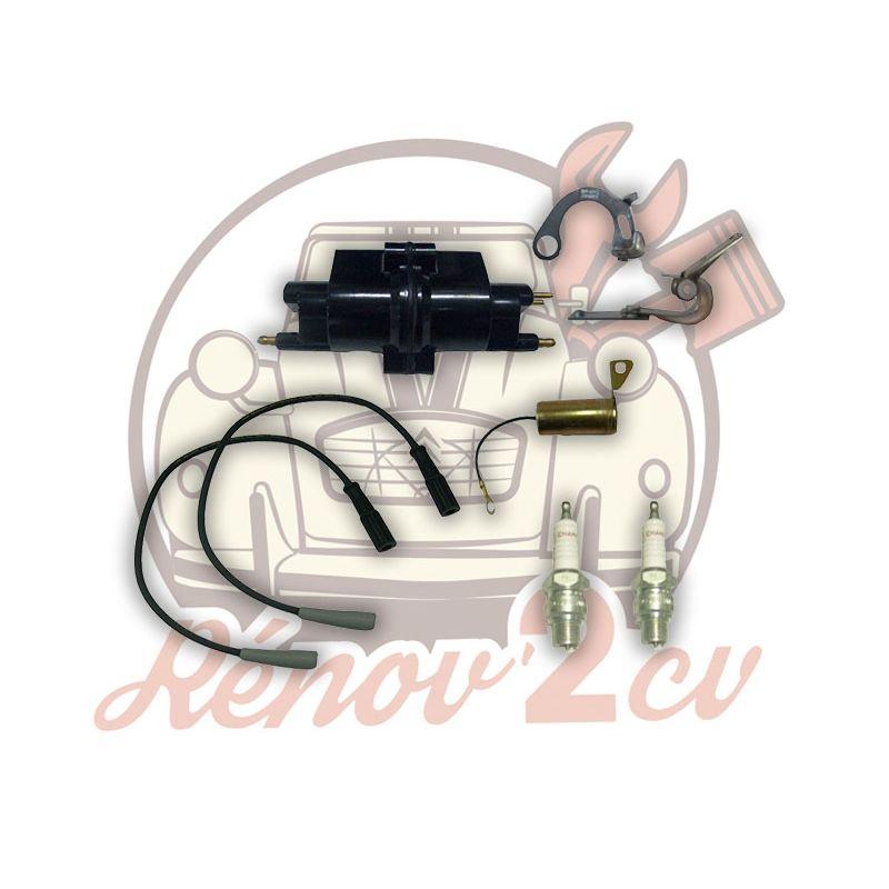 Ignition kit 12 volts 2cv mehari dyane acadiane